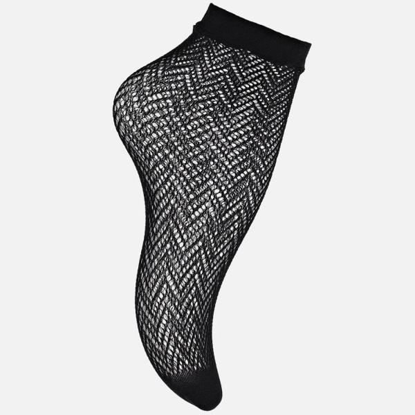 Palmers Trendy Zig Zag Ladies Net Socks