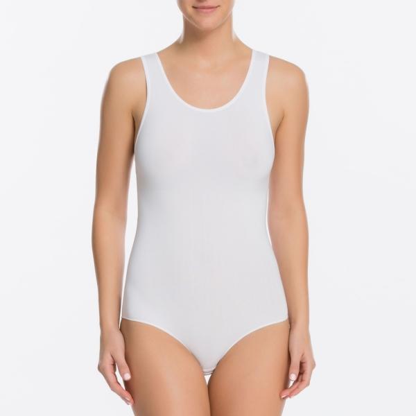 Spanx The Base Tank Ladies Bodysuit White