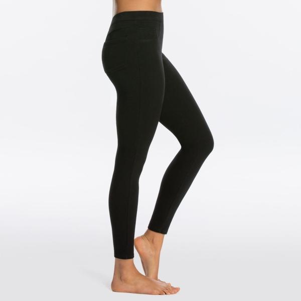 Spanx Jean-ish® Ankle Leggings Very Black