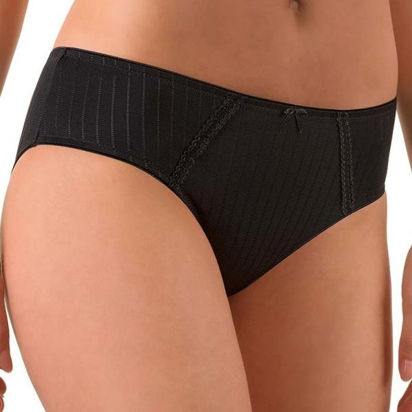 Felina Modern Weftloc Mini Panties Black