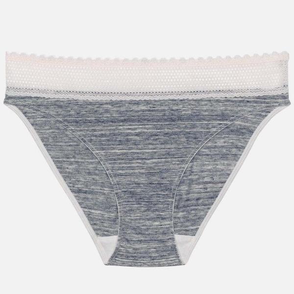 Palmers Comfy Cotton Ladies Mini Brief Grey