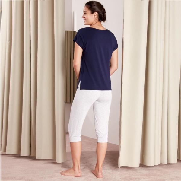 Palmers Base Tee Ladies Nightwear Shirt Black
