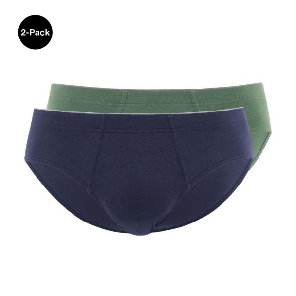 Palmers Men's Smart Mini Slip Green Blue