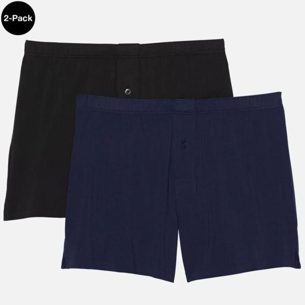 Palmers Sport Cotton Men's Boxer Blue/Black