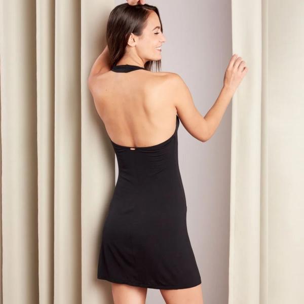 Palmers Oasis Beach Dress Black