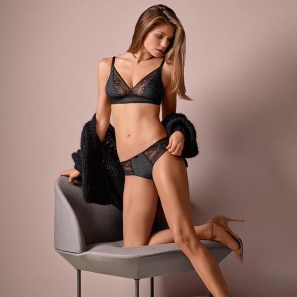 Felina Conturelle Online bra Carbon Black