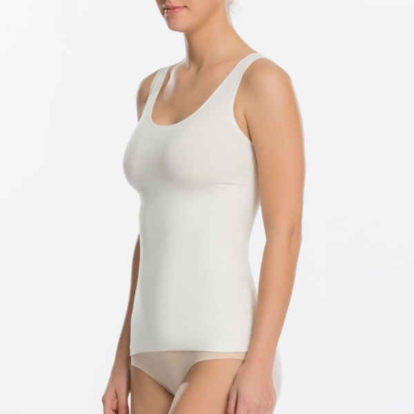 Spanx In & Out Ladies Tank Powder