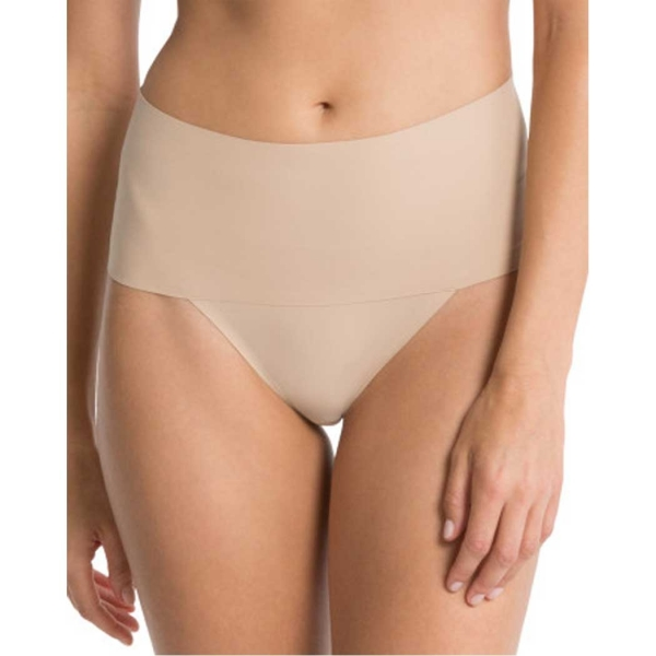 Spanx Undie-tectable Thong Soft Nude