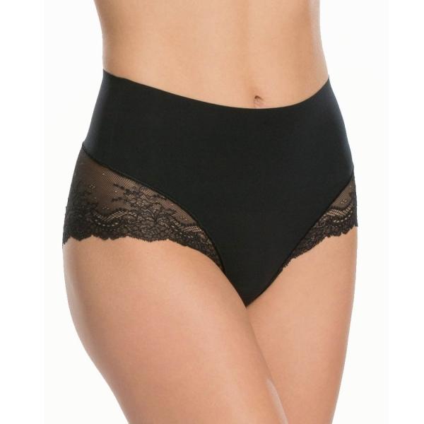 Spanx Undie-tectable Lace Hi-Hipster Panty Very Black